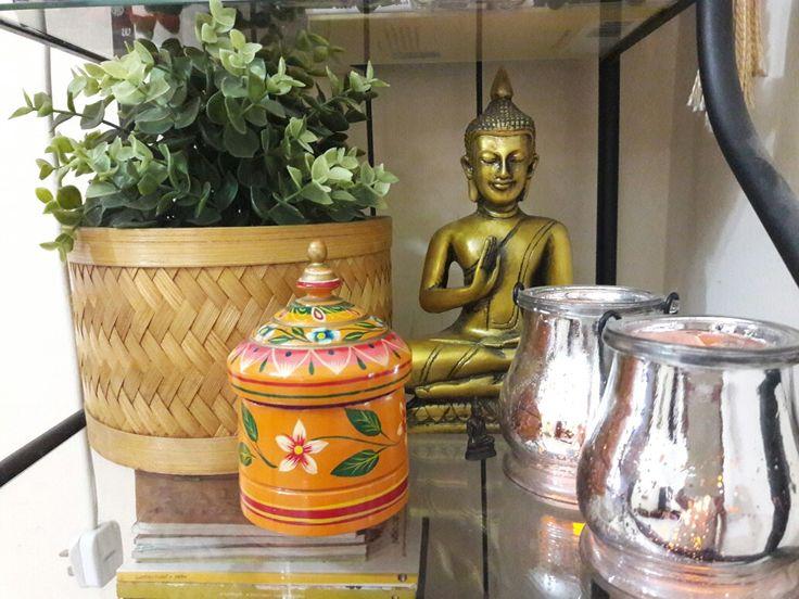 #Zen corner. A corner from my home. #Buddha.