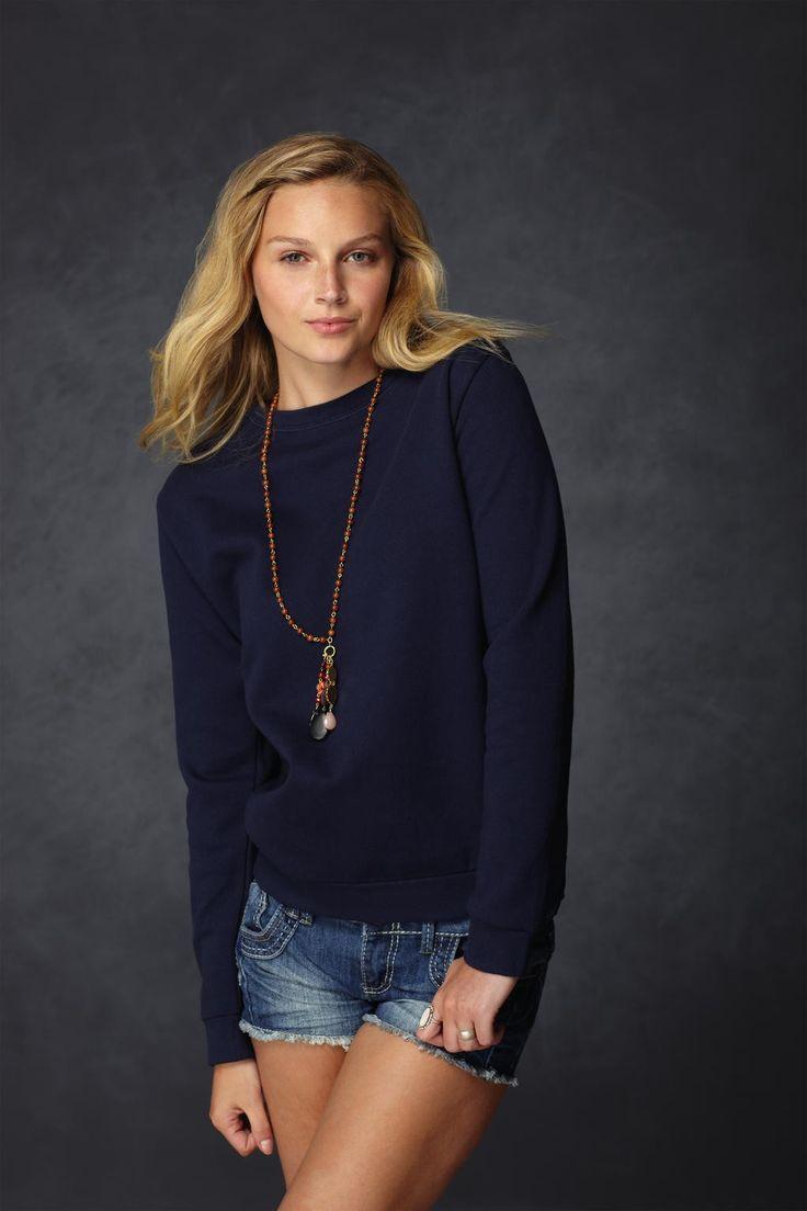 Felpa Fashion Girocollo a Maglioncino Moda Donna Originali Tonalità di Colori