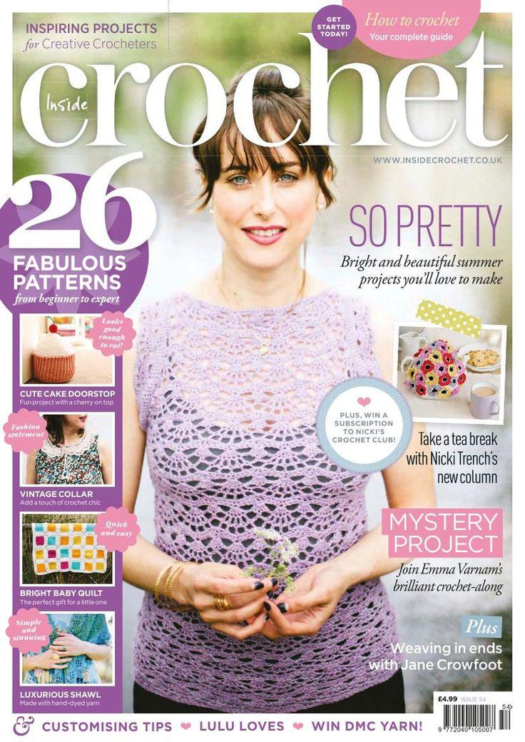 Inside Crochet Issue №54 2014 - 轻描淡写 - 轻描淡写
