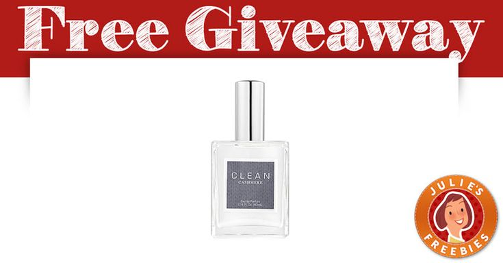 Free Clean Cashmere Perfume Giveaway