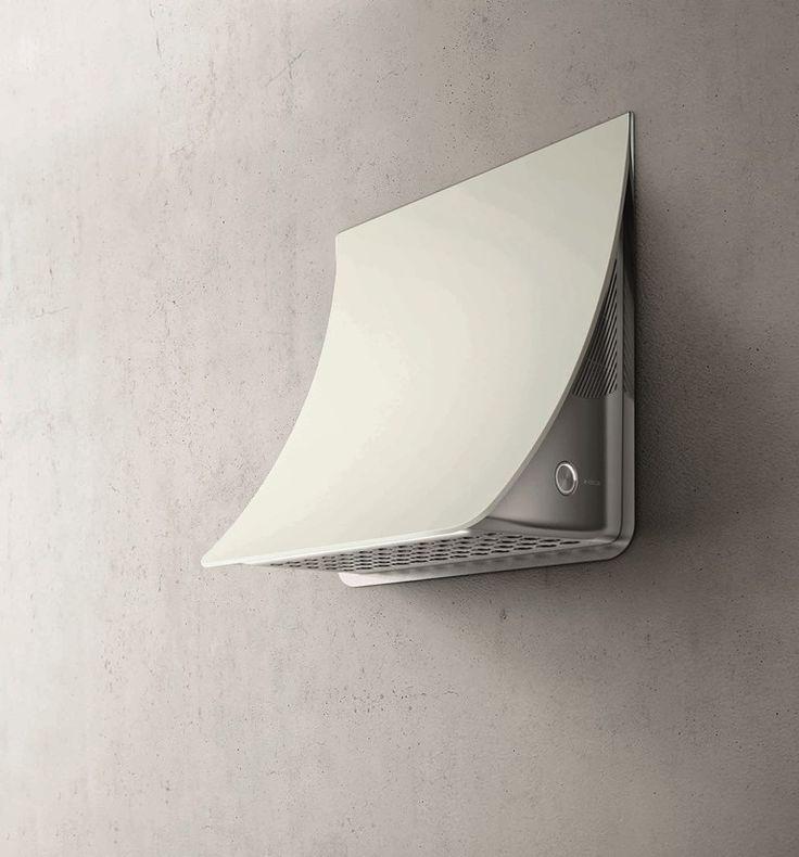 Wall-mounted steel cooker hood NUAGE - Elica