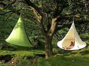 CACOON Tenda Appendere la DOPPIO Amaca campeggio familiare Da Esterno | eBay