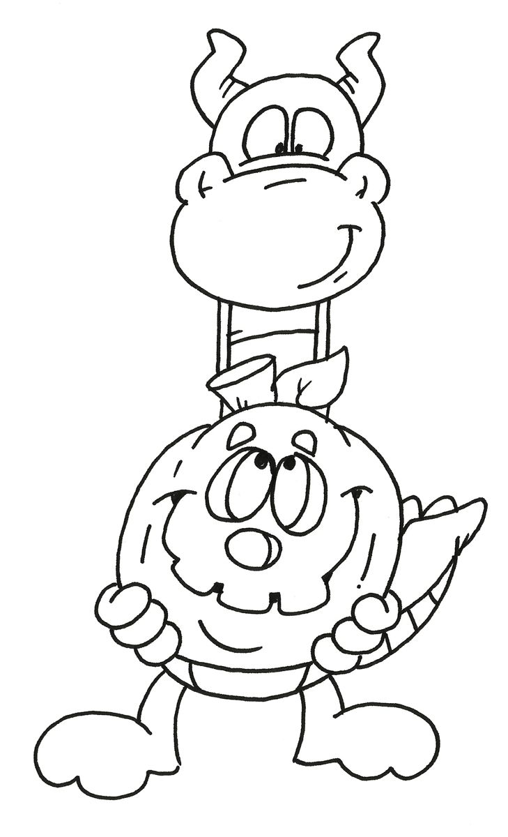 dudley the dragon coloring pages - photo#19