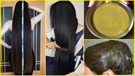 Extreme hair growth mask with henna powder