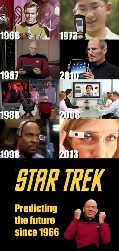 Star Trek Prediction. Ive totally thought this!