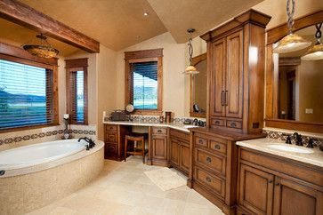 Brasada Ranch Style Homes - traditional - bathroom - other metro - Western Design International