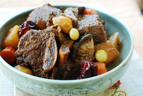 Korean braised short ribs (galbijjim)... once you try this you'll never see short ribs the same ever again... sweet and salty with undeniable umami.
