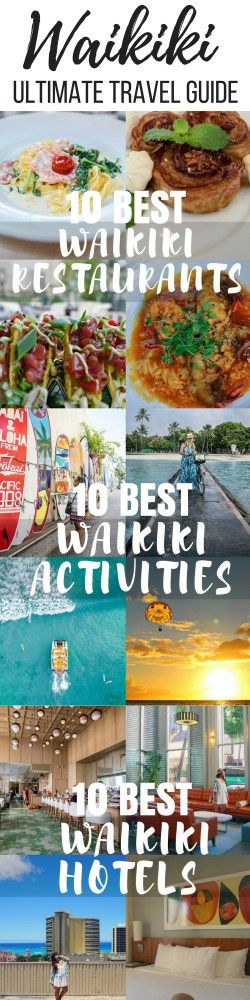 ULTIMATE WAIKIKI TRAVEL GUIDE: 10 ACCOMMODATIONS, 10 ACTIVITIES, & 10 RESTAURANTS | Wanderlustyle.com #HawaiiTravel #HawaiiTravelGuide #Hawaii