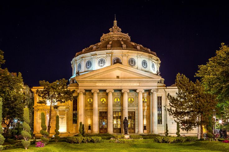 The Athenaeum ( arch. Albert Galleron ) by Mihai Palosi on 500px By