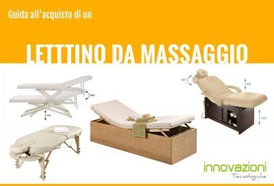 Tutto quello che dovreste sapere prima di procedere all'acquisto di un lettino professionale da massaggio/visita. Una guida completa per centri esteti...