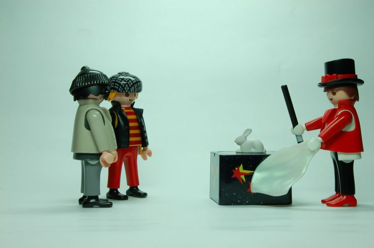 Pete & Rob versus Useless Magician | Playmobil® Stop Motion Film 052
