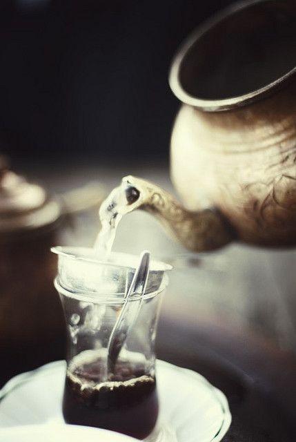 Turkish tea....