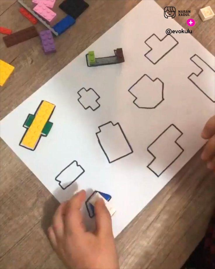 @evokulu presenta esta actividad los niños obtienen aprendizajes como:  ✅Conciencia espacial: al colocar las piezas los niños aprenden a tener una uena distribución del espacio, de las formas y de los tamaños. ✅Aprendizaje matemático: Aprenden formas y el conteo de números, simetría y distribuciones. ✅Habilidades de razonamiento: Meoran la capacidad para resolver problemas. Baby Activities, Happy Birthday, Math, Memes, Ideas, Frases, Educational Crafts, Toddler Activities, Crafts For Kids