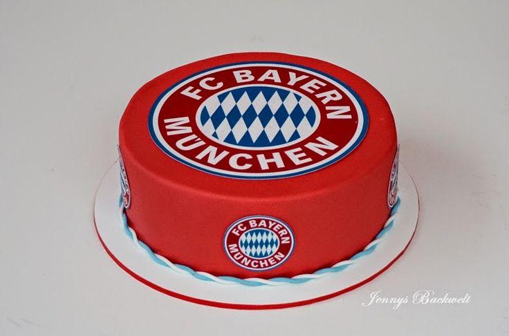 Jennys Backwelt: Bayern München Torte                                                                                                                                                      Mehr