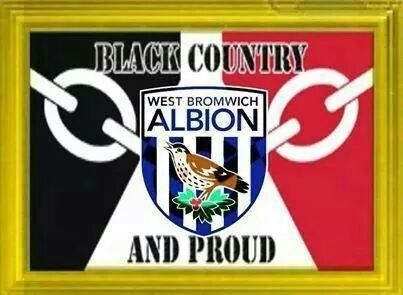 Black Country Baggies flag.