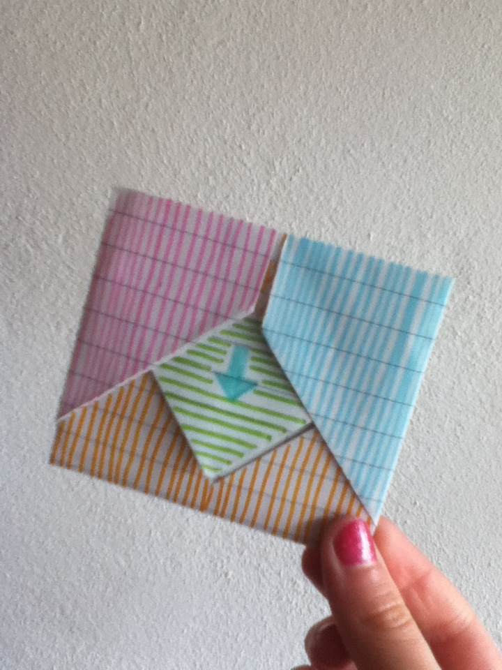 How to fold a love letter in a cute way / October 2018 Sale