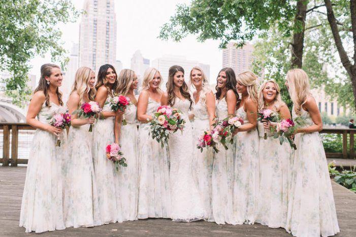 Floral Bridesmaids Dresses Light Grey Bridesmaids Dresses Summer Wedding Dress Ideas United With L Summer Bridesmaid Dresses Bridesmaid Summer Bridesmaids