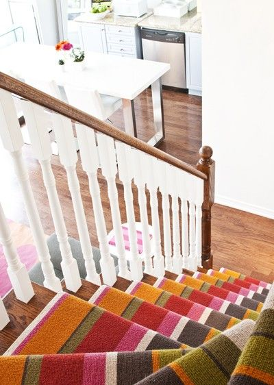 What Dan/Dani should have done to their stairs on The Block | Missoni stair runner