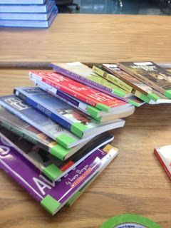 4th Grade 4ever: Library Labels Great way to quickly organize classroom library!