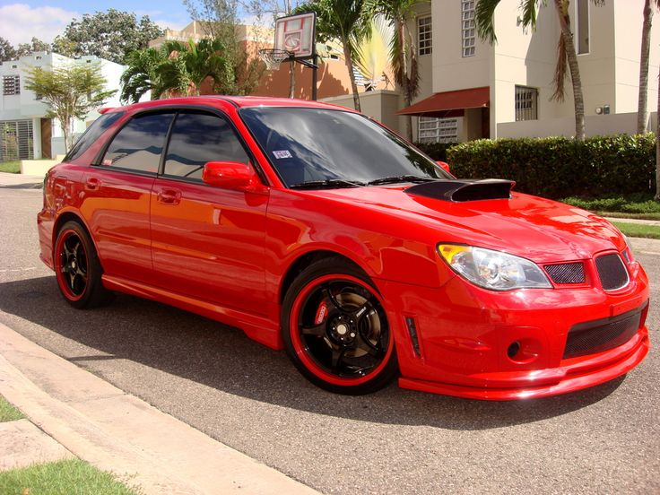 2006 Subaru Impreza WRX Limited Wagon | RED WRX's | Pinterest | Subaru and Subaru impreza