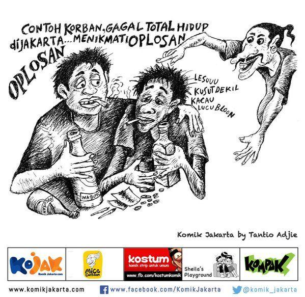 Oplosan by: Tantio Adjie #KomikJakarta https://t.co/vqXm0A9wFy