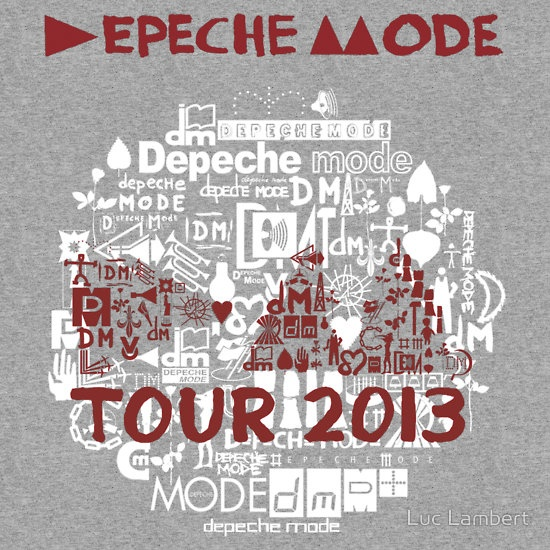 Depeche Mode : Tour Logo 2013 - With old logo 2