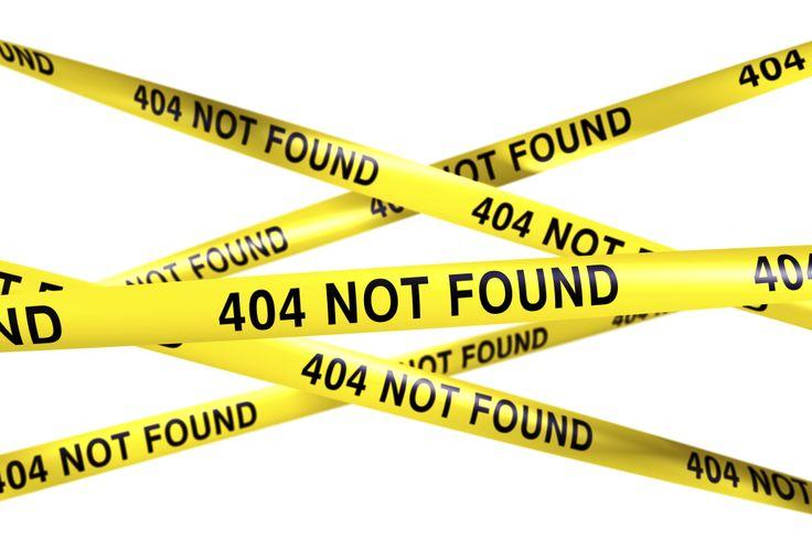 Når sjekket du sist 404-sidene dine?