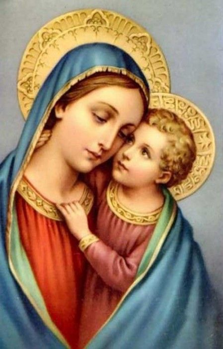 Image result for google images virgin mary with child