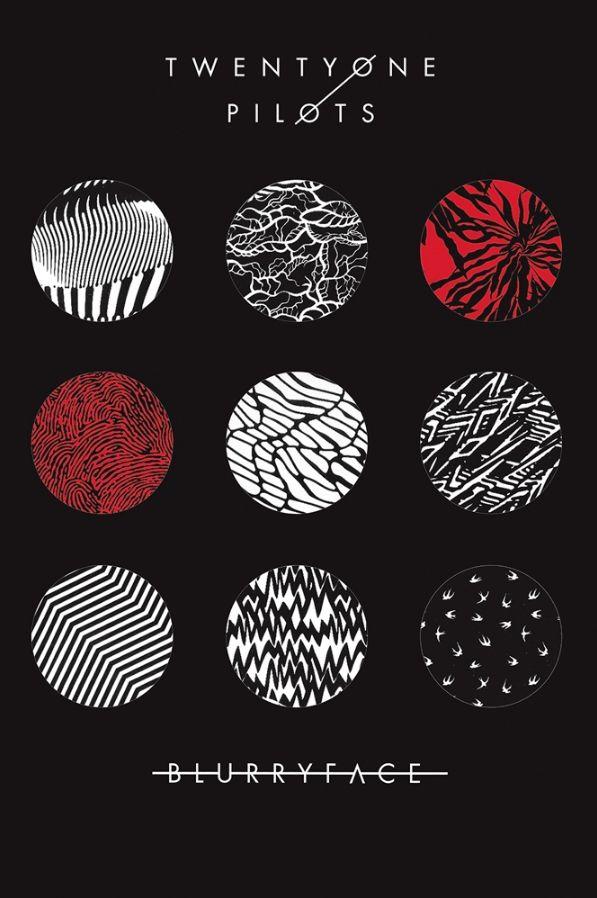 Twenty One Pilots Blurryface Poster