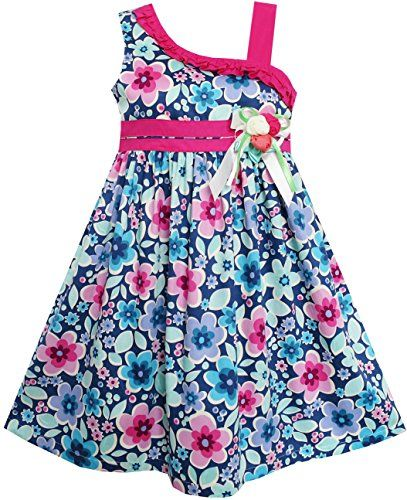 Sunny Fashion Robe Fille Multicolore Fleur Arc Attacher Asymétrique Conception Sunny Fashion http://www.amazon.fr/dp/B00U1U3M0Y/ref=cm_sw_r_pi_dp_27cwwb154H67M