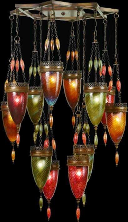 Large Scale Eclectic Chandeliers - Brand Lighting Discount Lighting - Call Brand Lighting Sales 800-585-1285 to ask for your best price!