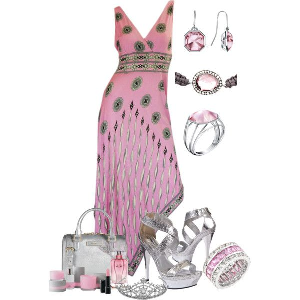 A fashion look from June 2013 featuring Emilio Pucci dresses, DKNY handbags and Fantasy Jewelry Box rings. Browse and shop related looks.