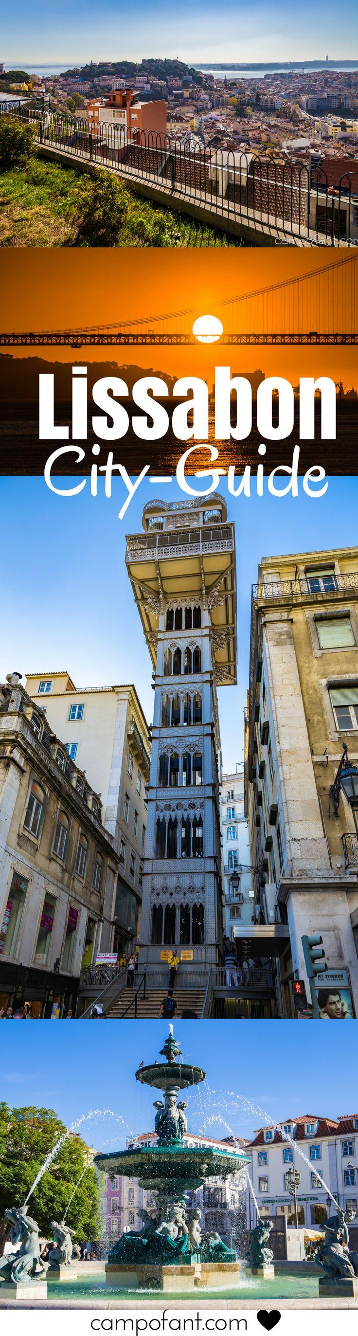 Lissabon - die Hauptstadt Portugals. Es ist zeit für eine Sightseeing Tour durch die europäische Metropole. Die Stadt am Tejo hat einiges zu bieten. Was genau erfährst du in unserem City Guide - ideal für alle, die gut vorbereitet sein wollen, egal ob mit oder ohne Wohnmobil.  #lissabon #cityguide #sehenswürdigkeiten #städtetrip