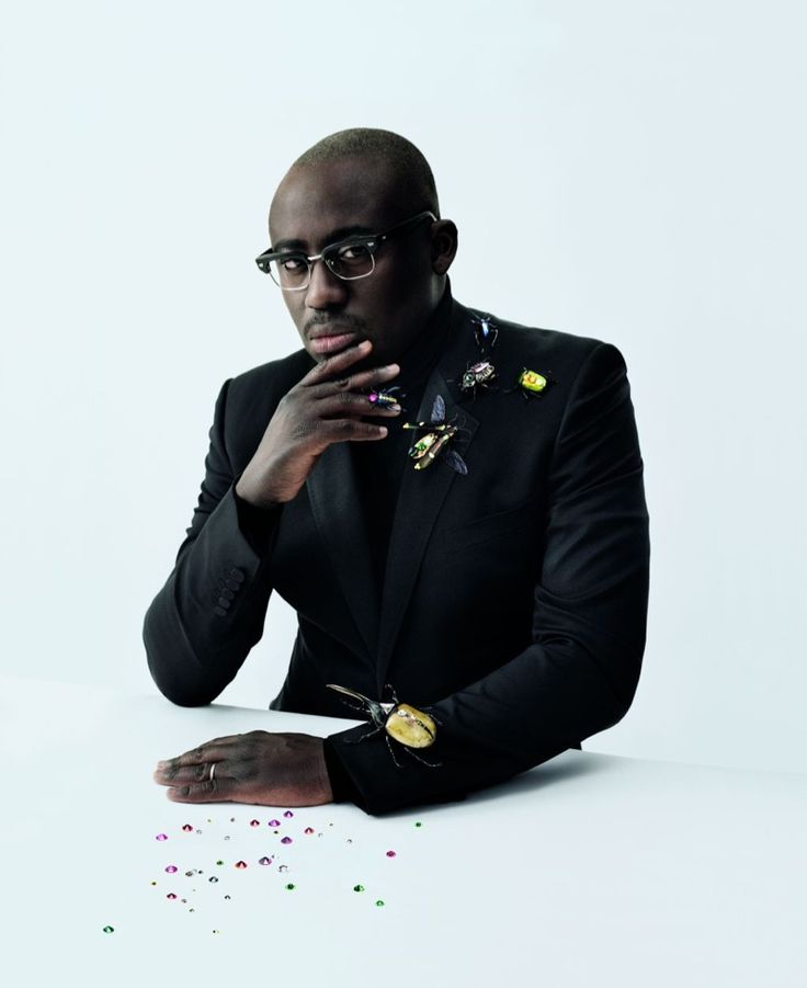 British Vogue has confirmed Edward Enninful as its first male editor. Here, Enninful stars in Swarovski's fall 2016 campaign.