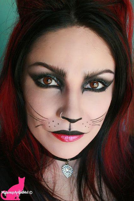 Felina - Cat Makeup Tutorial - Make-up Artist Me!