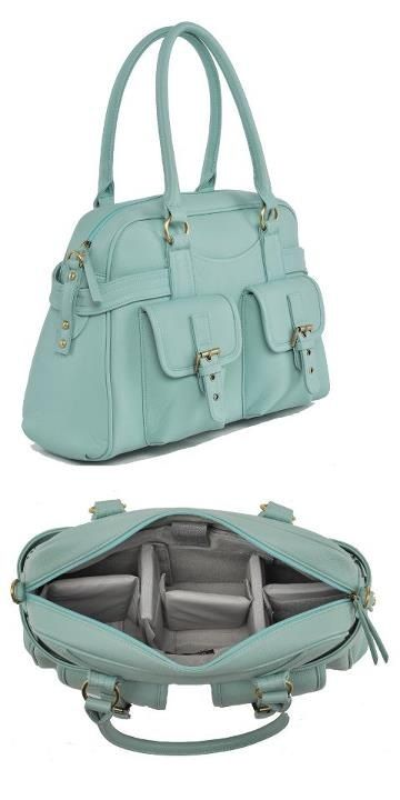 jototes camera bag that fits a MacBook, camera, lenses, and a bunch of other handbag stuff! I want this!