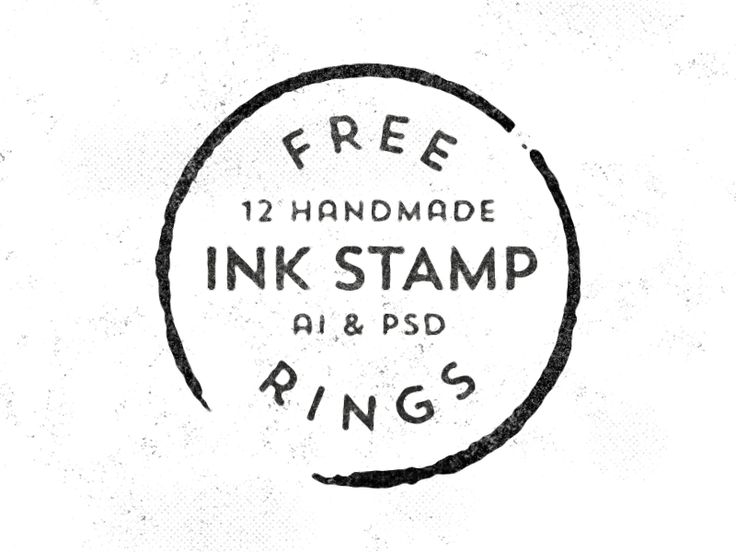 12 Free Handmade Stamp Rings