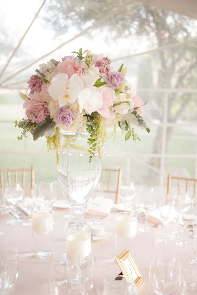 Light Sweet Romantic Centerpieces Wedding Tabletops