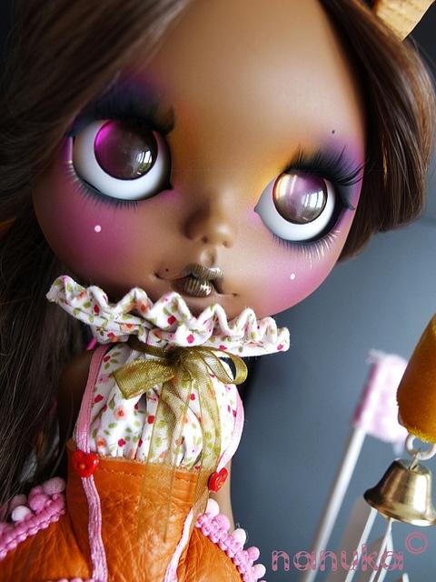 """Circe"" Blythe doll custom by NaNuKa"