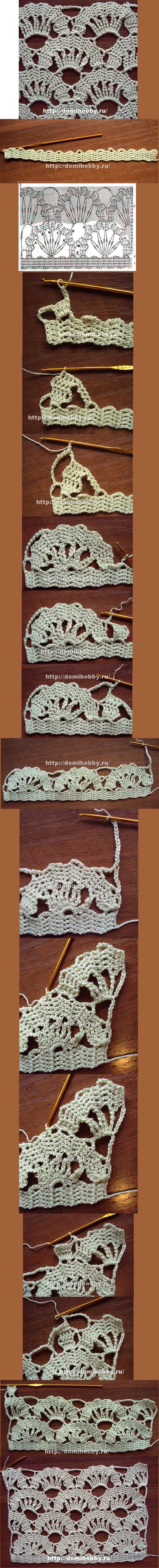 Crochet_Tutorial for a beautiful technique. Enjoy! #KnittingGuru http://www.pinterest.com/KnittingGuru