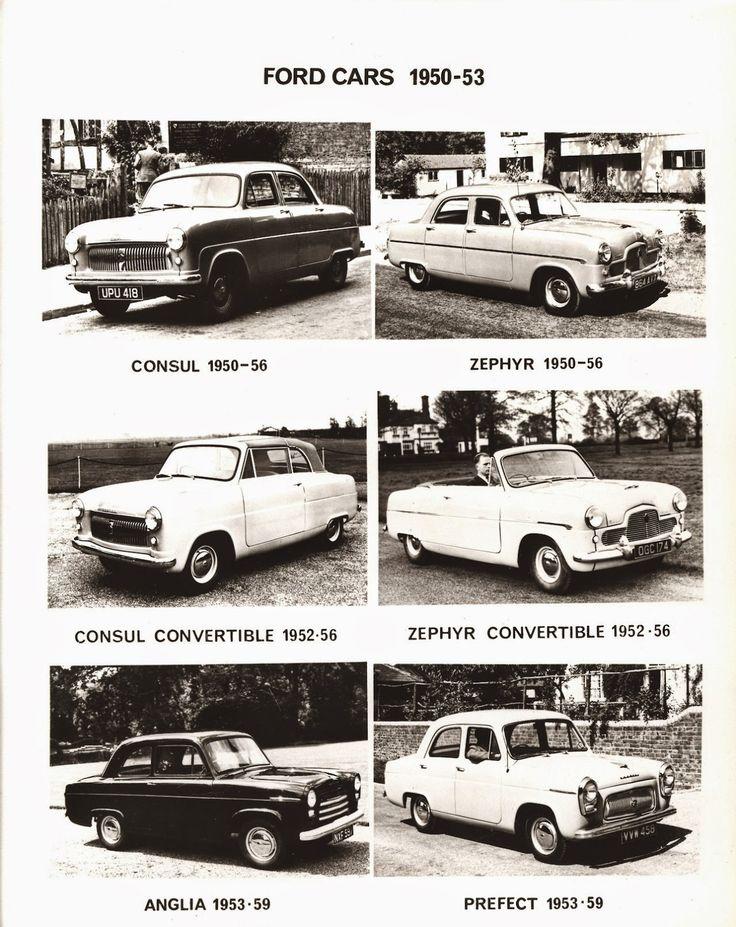 404 best Ford - England images on Pinterest | Vintage cars ...
