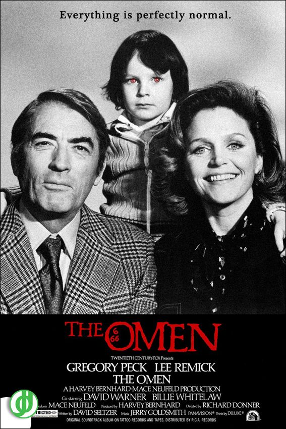 THE OMEN. Poster designed by Jidé.