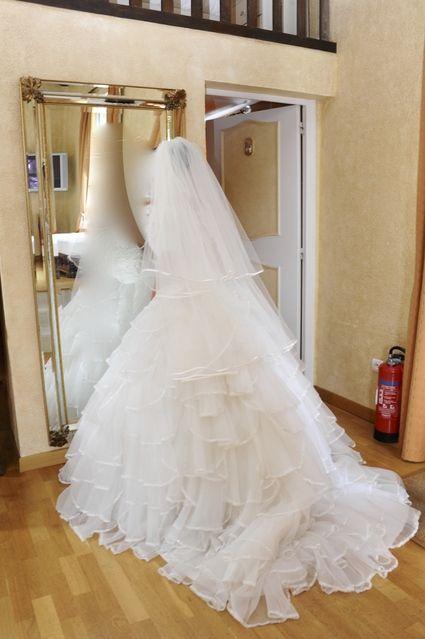 Magnifique Robe de mariée couture Ian Stuart  t.36/38 d'occasion - Alpes Maritimes
