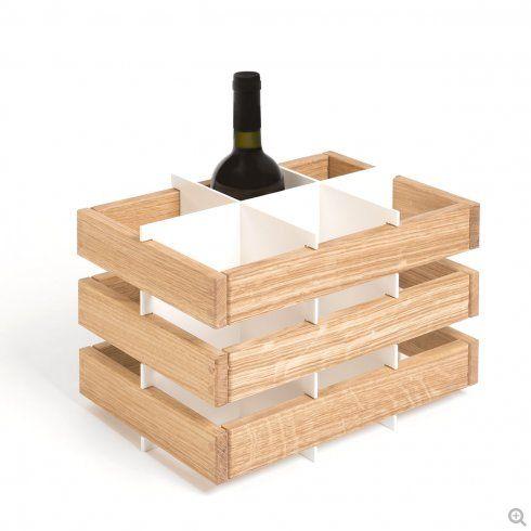 Portabottiglie Di Vino Officinanove / Antonio Norero