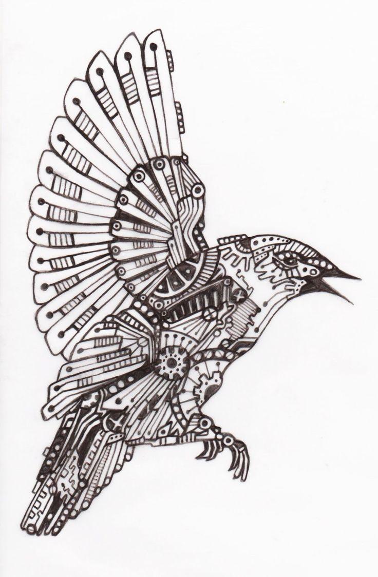 9 best mechanical birds images on pinterest bird