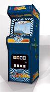Desktop Arcade Cabinet & Bar Stool web game, free to play from matica.com