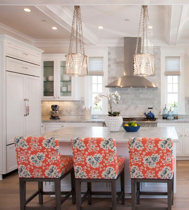 Visual Comfort Ralph Lauren Chatham Small Pendants polished nickel. Kitchen…