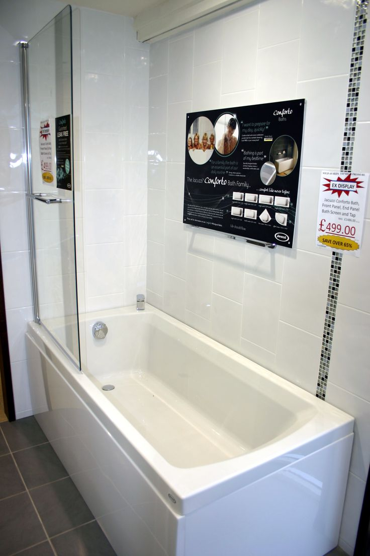 Ex Display Jacuzzi Conforto Bath Front Panel End Panel