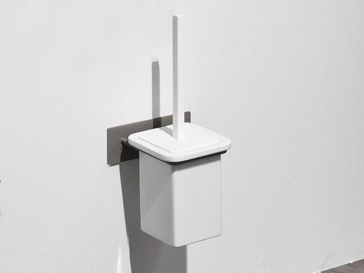 Wall-mounted toilet brush FILO   Toilet brush - Edoné by Agorà Group