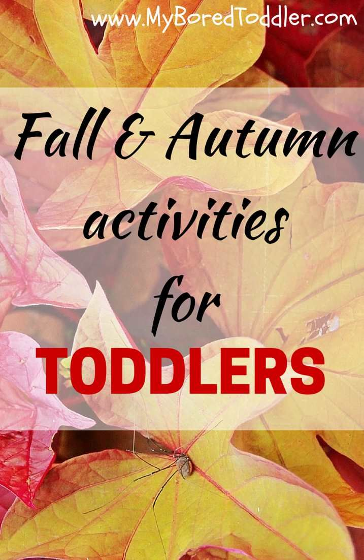 fall crafts for toddlers, Autumn Crafts for toddlers #Toddlers #ToddlerActivities My Bored Toddler www.MyBoredToddler.com